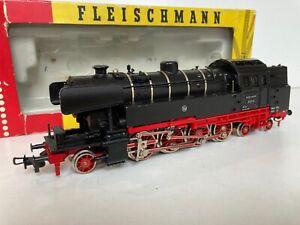 FLEISCHMANN HO LOCO-TENDER 142T BR 65014 DE LA DB 3 RAILS AC EN BOITE D'ORIGINE