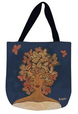 Release, Relax, Renew African American Woman Tapestry Tote Bag ~ Gbaby Designs