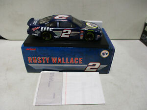 Action 1999 Rusty Wallace Miller Lite Harley Davidson 1/24 12/16