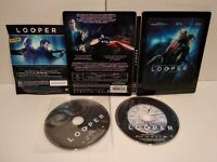 Looper Édition Blu-ray Steelbook - PAL Zone 2 - Comme neuf