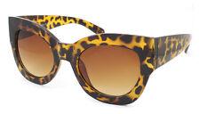 Oversized Cat Eye Sunglasses Celebrity House of Style Big Thick Frame DESIGNER Tortoiseshell
