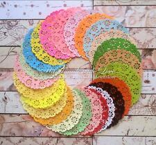 """5"""" Medallion Doily. 1 pack of 24pcs. Made from acid free 80gsm paper."""