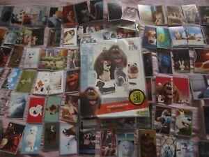 Panini stickers secret life PETS album and 100 stickers