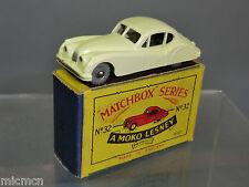 """MATCHBOX MOKO LESNEY MODEL No.32a """"JAGUAR"""" XK 140  WHITE VERSION  MIB"""