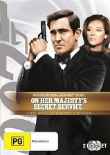 On Her Majesty's Secret Service - Special Edition (DVD, 2007) George Lazenby