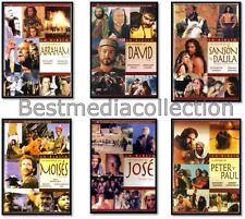 Historia De Moises Jose Abraham David Sanson Y Dalila Peter Y Paul DVD NEW 6 Pk