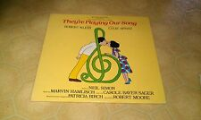 THEY'RE PLAYING OUR SONG Robert Klein LUCIE ARNAZ Original Cast Recording Record