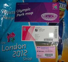 Londres 2012 Jeux Olympiques Jeux Paralympiques england v USA FOOTBALL billet Memorabilia