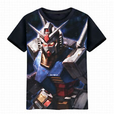Anime GUNDAM Rx-78-2 T-shirt Short Sleeve Unisex Black TEE Cosplay S-3XL#NM259