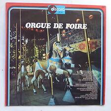 Orgue de foire Alexander's ragtime band Fete foraine DISCARA 153