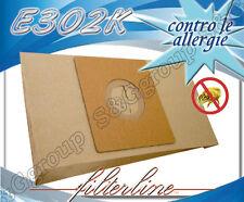 E302K 8 sacchetti filtro carta x Elettrozeta 9729