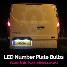 Ford Transit Mk5 Mk6 Mk7 2005 - 2012 Blanco LED Número De Matrícula Bombillas Actualización