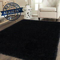 BEDROOM SMALL AND LARGE SHAGGY RUG CARPET RUGS THICK PLAIN SOFT PILE NON SKID