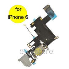 Dark Gray Charging Port Dock Headphone Mic Audio Flex Cable for iPhone 6 4.7''