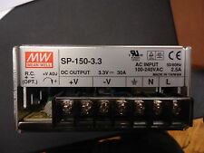 SP-150-33 MeanWell Switching Power Supplies 99W 3.3V 30A PFC Function Brand NEW!