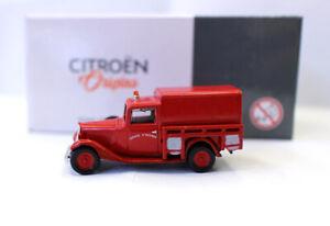NOREV 1/87 Scale Citroen U11 Pompiers 1935 Fire Vehicle HO diecast model