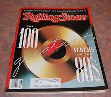 Nov 16 1989 issue of Rolling Stone 100 Greatest Albums of the 80s Cover