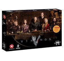 Puzzle Vikings Ragnar's Court Wikinger Fanartikel 500 Teile 48 x 34 cm
