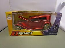 JADA 1/24 D RODS CANDY RED 1931 FORD MODEL A HOT ROD USED IN THE BOX *ISSUE*