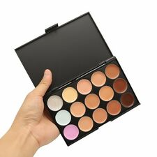 15 Colors Contour Face Cream Eye Shadow Makeup Concealer Palette Set