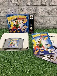 Nintendo 64 - Duck Dodgers Starring Daffy Duck - N64 - UKV ENG CIB - Rare Game!