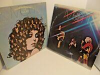 "Lot of 2 Mott The Hoople Vintage Vinyl Records LP ""The Hoople"" & ""Live"" VG++"