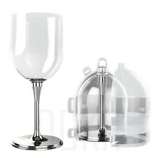 Portable Wine Glass Unbreakable Outdoor Cup with Sealed Case - Various Color