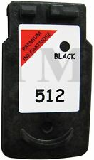 Remanufactured PG 512 Black Ink fits Canon Pixma IP2702 Printers