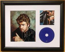 George Michael / Signed Photo / Autograph / Framed / COA