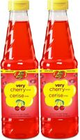 (2) Jelly Belly JB15731 Sugar-Free Very Cherry Snow Cone Syrup, 16-Ounce, Red