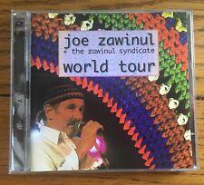 Joe Zawinil + The Zawinul Syndicate - World Tour 2CD ESC Recs