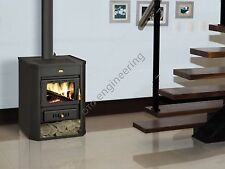 Wood Burning Stove 15 kW Fireplace Log Burner Woodburning Multi Fuel Prity WD