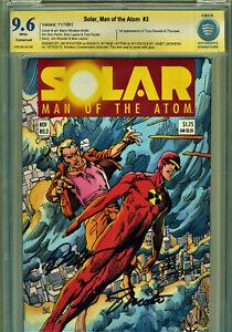 SOLAR #3 CBCS 9.6 SIGNATURE SERIES-3X SIGNED BY SHOOTER, LAYTON, J.J.JACKSON!
