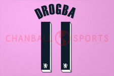 Drogba #11 2011-2012 Chelsea UEFA Champions League Awaykit Nameset Printing