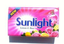 Sunlight with Lemon & Rose Fragrance laundry bar soap 115g High Quality Product