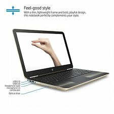 HP 15 inch laptop i7-6500U 12GB 1TB DVD Webcam Backlit keyboard FHD Win 10