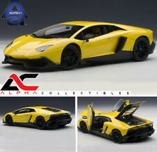 AUTOART 74681 1:18 LAMBORGHINI AVENTADOR LP720-4 50th ANNIVERSARY EDITION YELLOW