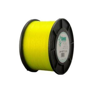 Ande Monster Monofilament Fishing Line 1/2 Lb Spool 80 Lb Test Hi Vis Yellow