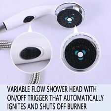 Deluxe Shower Head  Multi Function for Water Heater Camp Caravan 4wd Boat Home
