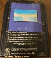 Dire Straits Communique 8 Track Tape tested and works perfect