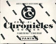 PANINI CHRONICLES 2020-21 SOCCER FACTORY SEALED CELLO FAT PACK (12 PACK) BOX