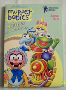 Brighter Child MUPPET BABIES Shapes and Colors PC Learning (Free Shipping)