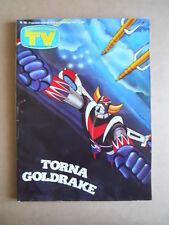 TV Sorrisi e Canzoni n°49 1979 Numero Storico su GOLDRAKE Atlas Ufo Robot [C99]