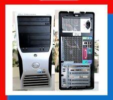 Run 4 Monitors. Dell Precision 390 Tower 256G SSD, 500G SATA, WINDOWS 10 pro