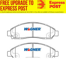 Wagner Brake Pad Set Front DB1468WB fits Holden Colorado 2.4 i (RC),3.0 TD (R