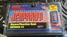 vintage jeopardy hand held video game cartridge 3 tiger electronics travel car