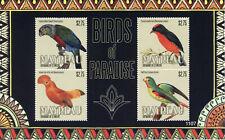 Mayreau Gren St Vincent Stamps 2011 MNH Birds of Paradise Parrots 4v M/S II