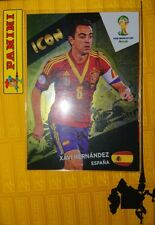 Xavi Hernández Spain Icon Nordic Adrenalyn XL Fifa WC Brasil Brazil 2014 Rare