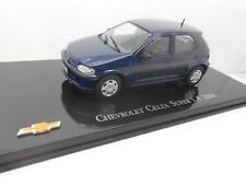 COCHE CHEVROLET CELTA SUPER 1.4 2006  METAL MODEL CAR 1/43 1:43 SALVAT