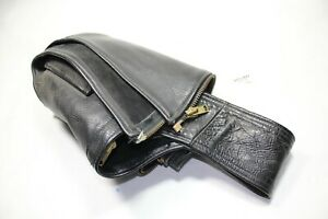 leather riding chaps California CreationsLarge XL 32 34 36 Harley FXR EPS22443